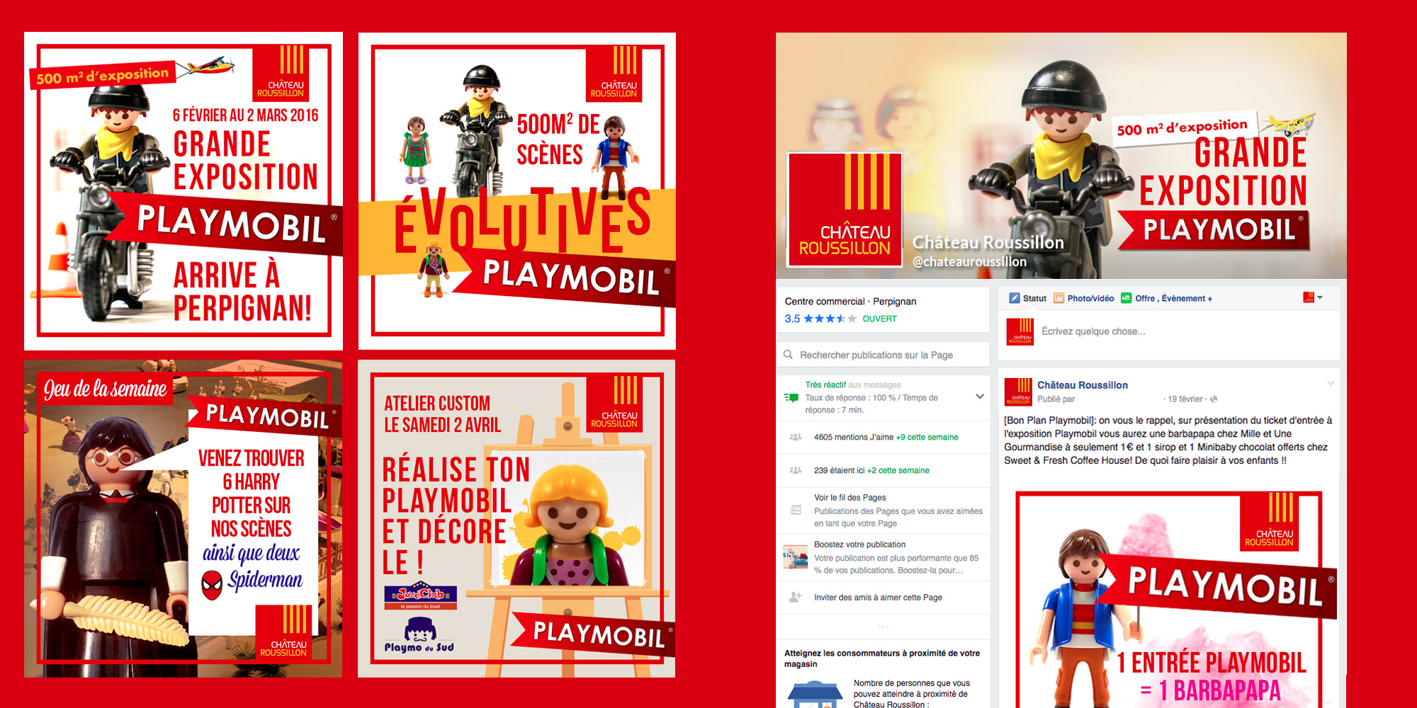 Château Roussillon - Codic - IDDP - Playmobil
