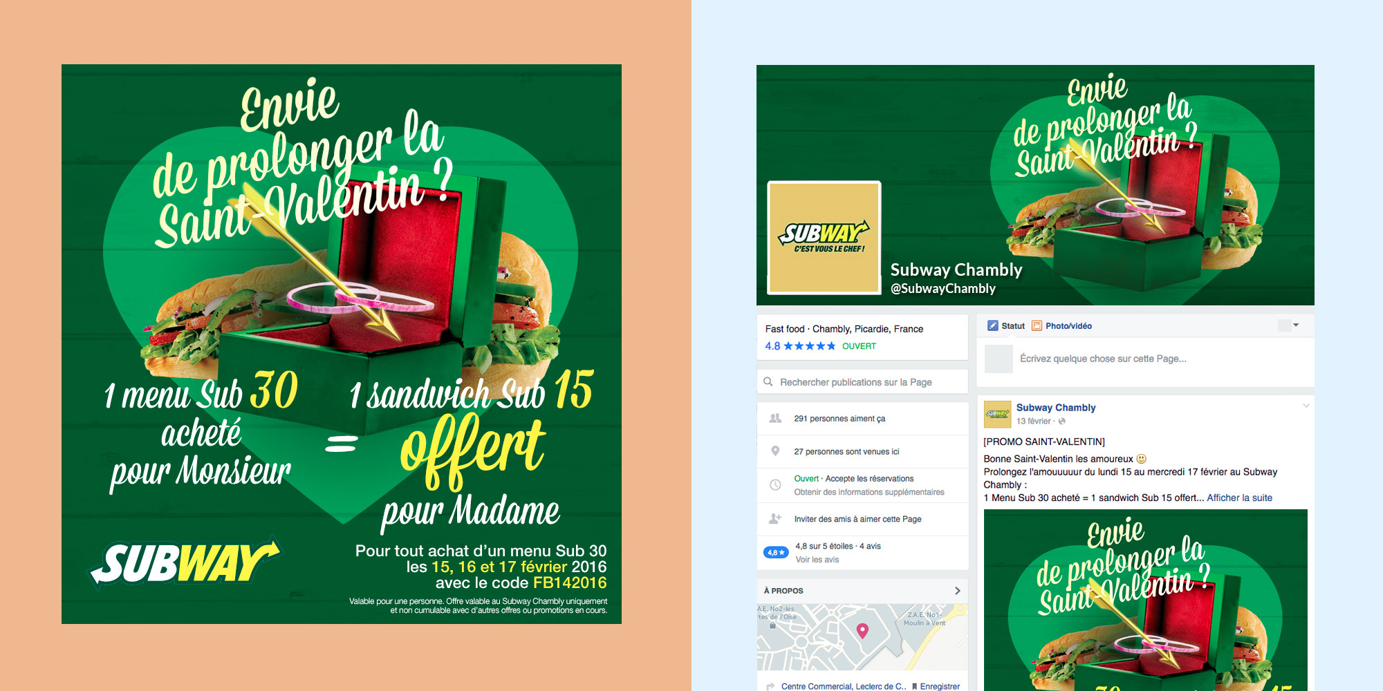 Subway - Saint-Valentin - Facebook - IDDP