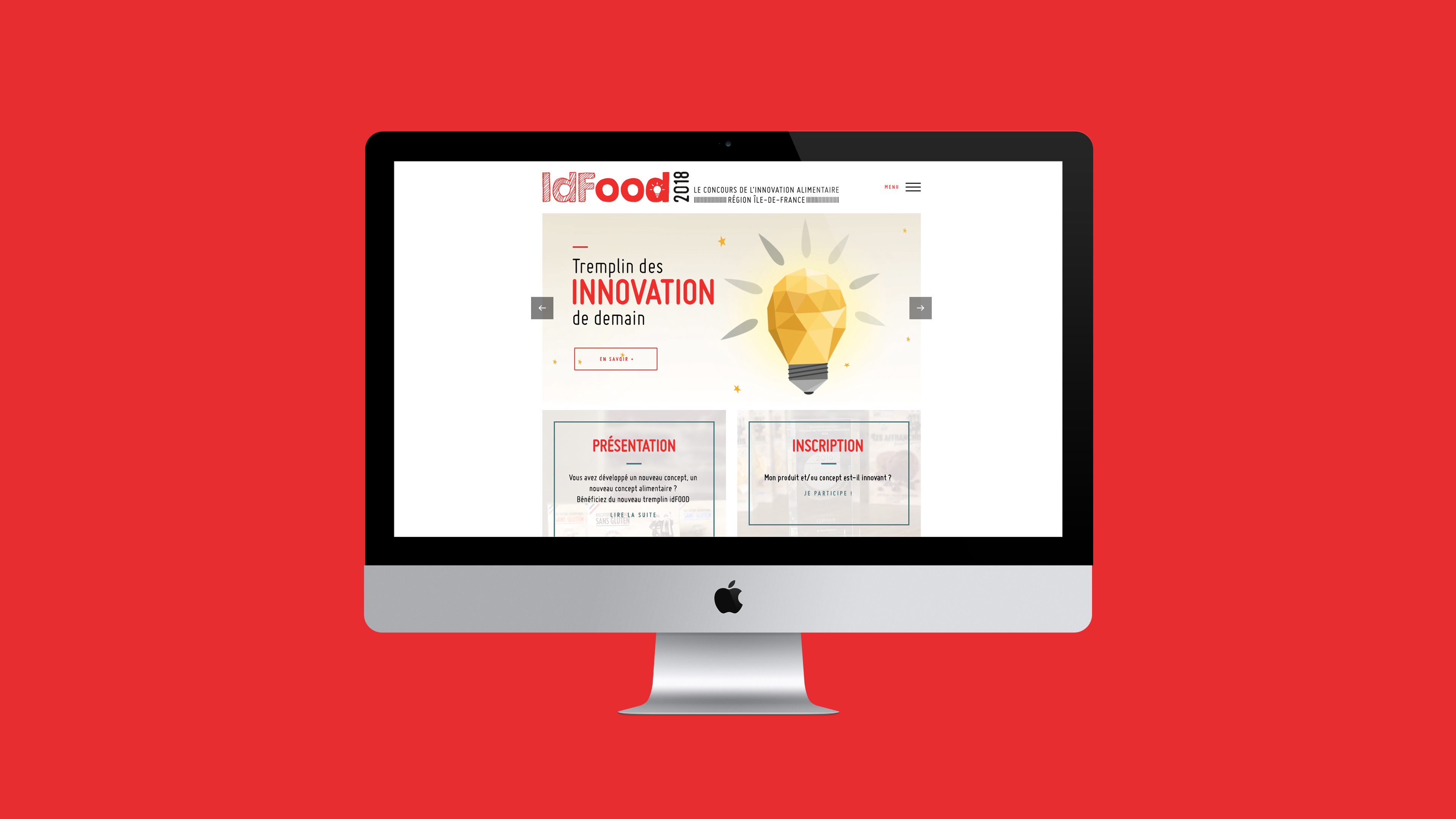 Site concours idfood accueil