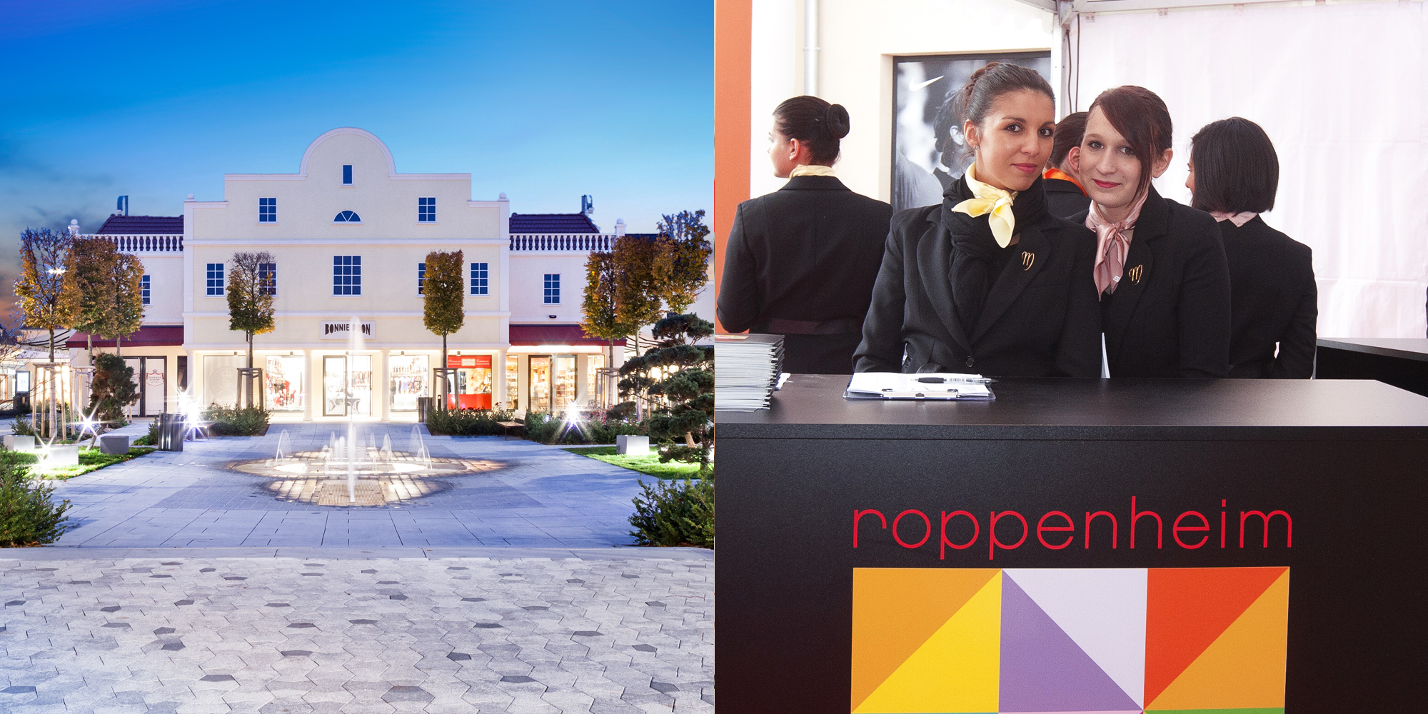 Roppenheim The Style Outlets - inauguration - IDDP